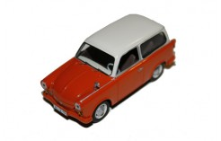 Trabant P50 Kombi - Orange & Beige - 1959