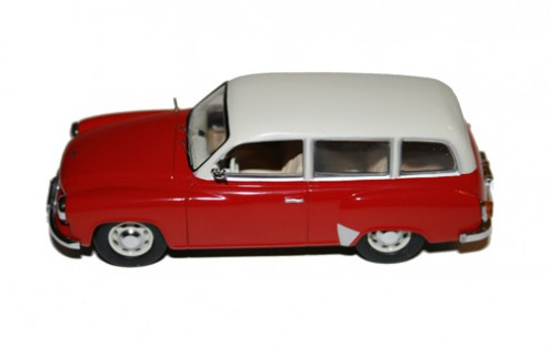 Wartburg 311-1 Kombi - Red & white - 1962
