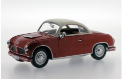 AWZ P70 Coupe - Dark Bordeaux and Whte - 1958