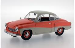 Wartburg 311 Coupe - Orange and Cream - 1958