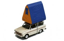 Trabant 601S Universal (Camping) with Roof Tent in resin - Cream - 1980