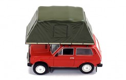Lada Niva with Roof Tent - Red - 1981