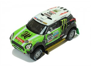 MINI ALL 4 RACING #302 S.Peterhansel-J.P.Cottret Winner DAKAR 2013