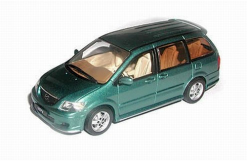 MAZDA MPV Metal Green