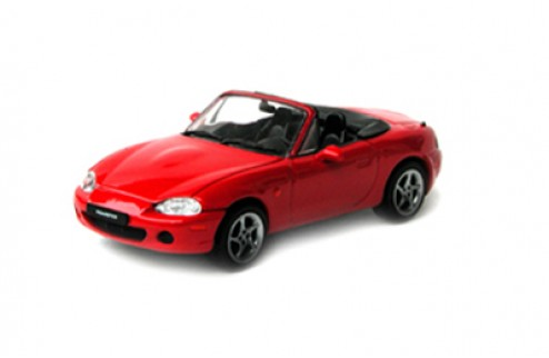MAZDA ROADSTER RS1800 Opened Red