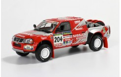 NISSAN NAVARA Pick Up Paris-Dakar 2003 - G. de Villiers