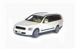 NISSAN STAGEA 300RX White Pearl