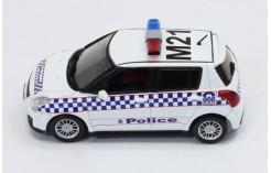 Suzuki Swift Australia Melbourne Police Car 2010