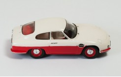 DB Panhard HBR5 1957 Beige and Red (Closed Lights)