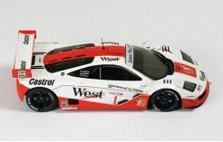 McLaren F1 GTR (West) #1 T. Bscher-P. Kox 4H SPA 1996