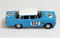 Mercedes-Benz 300SE (W111) #102 R.Crevits-G.Gosselin Winner 24H SPA 1964