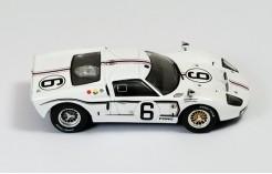 Ford MKIIB #6 J. Schessler-G.Ligier Le Mans 1967