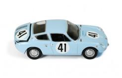 Simca Abarth 1300 #41 R. Langeneste-J. Rolland Le Mans 1962