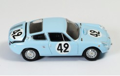 Simca Abarth 1300 #42 H. Oreiller-T. Spychiger Le Mans 1962