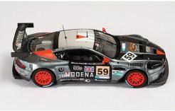 Aston Martin DBR9 #59 (Team Modena) A. Garcia-J. Menten-C. Fittipaldi Le Mans 2007