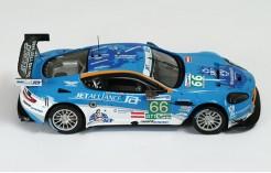 Aston Martin DBR9 #66 LMGT1 Lichtner-Hoyer L. - Muller A. - Gruber T. 3rd Le Mans 2009