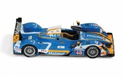 Oreca 03- Nissan #48 A. Premat - D. Hallyday - D. Kraihamer LMP2 Le Mans 2011