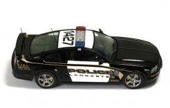 Ford Mustang GT USA Lancaster Police 2005 (Black & White)