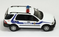 Mercedes Ml320 Alabama Police Units 2003