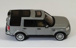 Land Rover Discovery 4 2010 Silver