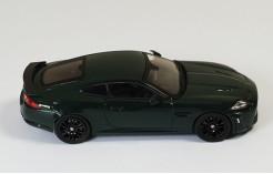 Jaguar XKR-S 2010 British Racing Green Metallic (with Black Wheels)