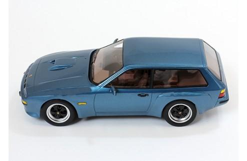 "PORSCHE 924 Turbo Kombi ""ARTZ"" 1981 Dark Blue"