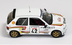 Peugeot 106 XSI (Peugeot Sport) #42 C. Bruzi-J-J. Pag