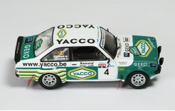 Ford Escort RS1800 #4 (Yacoo-Ixo) P. Snijers-W. Soenens Winner Boucles de Spa 2008