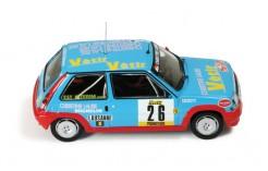 Renault 5 GT Turbo #26 E. Mauffrey-D. Grataloup Rally Monte Carlo 1988