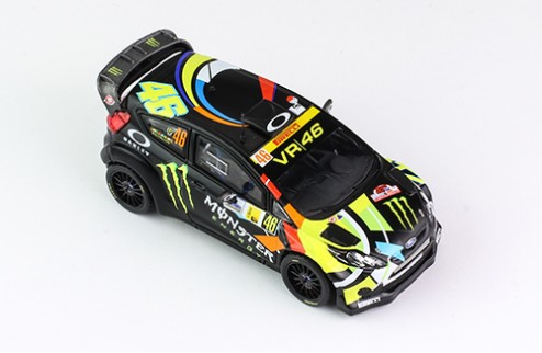 FORD FIESTA RS WRC #46 V.Rossi/C.Cassina Winner Monza Rally 2012
