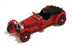 Alfa Romeo 8c Road Version Red 1931