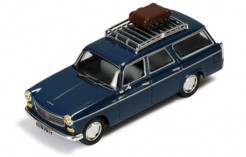 Peugeot 404 Break 1966 Dark Blue (with Roof Rack)