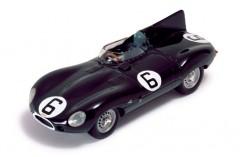 Jaguar D M. Hawthron-I. Bueb #55 Winner Le Mans 1955