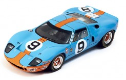 "FORD GT40 ""Gulf"" P.Rodriguez-L.Bianchi #9 Winner Le Mans 1968"