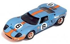 "FORD GT40 ""GULF""  J.ICKX-J.OLIVER #6 winner LE MANS 1969"