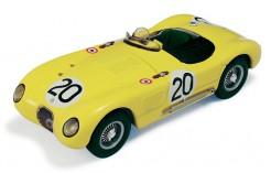 Jaguar XC120C C. Laurent - de Tornaco #20 Le Mans 1953