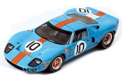 "FORD GT40 ""Gulf"" P.Hawkinks-D.Hobbs #10 Le Mans 1968"