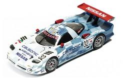 "NISSAN R390 GT1 ""Calsonic"" K.Oshino-A.Suzuki-M.Kageyama #32 3Rd Le Mans 1998"