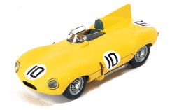 """JAGUAR D """"Ecurie Francorchamps"""" J.Claes-J.Swaters 3Rd Le Mans 1955"""