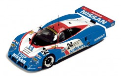 Nissan R89C J. Bailey-M. Blundell-M. Donnelly #24 Le Mans 1989