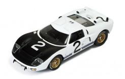 Ford MKII #2 K. Miles-B. McLaren-C. Amon-L. Bianchi Essais Le Mans (Avril) 1966