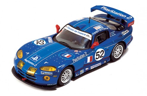 "CHRYSLER VIPER GTS-R ""Oreca Playstation"" J-P.Belloc-J.Cochet-B.Treluyer #52 Le Mans 2002"
