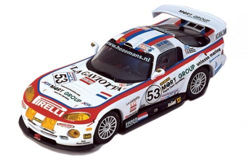 """CHRYLSER VIPER GTS-R """"Carsport"""" M.Hezemans-A.Kumpen-G.Matteuzzi #53 Le Mans 2002"""