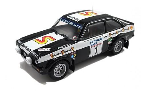 Ford Escorst MKII #1 (Black Beauty) A. Vatanen-T. Harryman Manx Rally 1982
