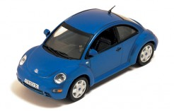 Volkswagen New Beetle Speed Light Metal Blue 2002