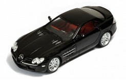 Mercedes McLaren SLR 2003 Black Wih Red interiors