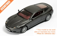Aston Martin DB9 Silver (with Bordeaux interiors 2005