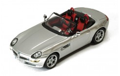 BMW Z8 Metallic Silver (with Red-Black interiors 2001