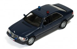 Mercedes S600 (W140) Russian Presidential Security 1993 Black