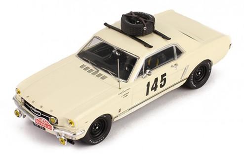 FORD MUSTANG #145 Chemin/Trintignant Rally Monte Carlo 1966